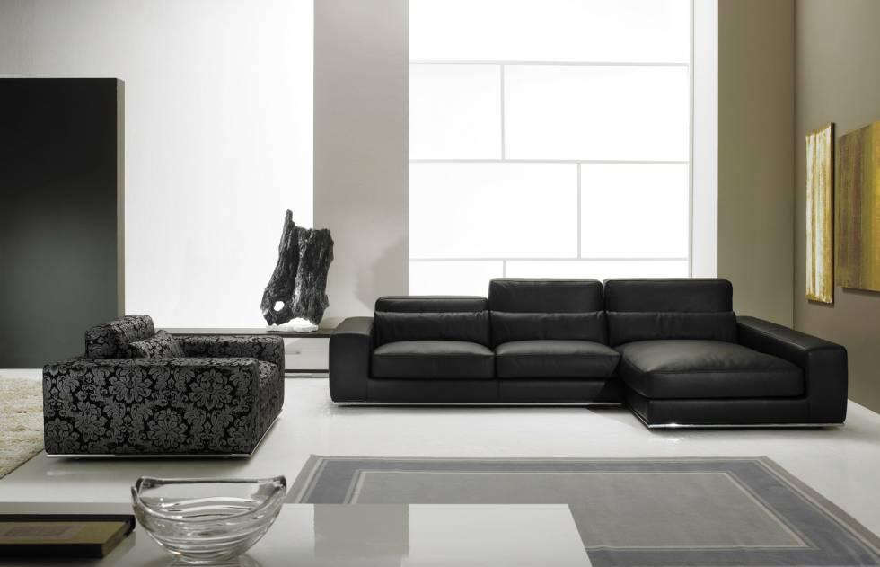 Canap d 39 angle en cuir ou en tissu fixe ou avec relaxation - Canape angle cuir relax electrique ...