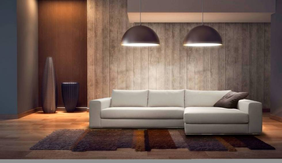 Canapé d angle en cuir ou en tissu fixe ou avec relaxation