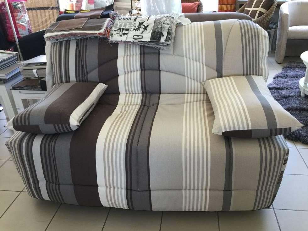 banquette bz 2 places matelas pais 14cm meubles et literie bandol bandol meubles. Black Bedroom Furniture Sets. Home Design Ideas